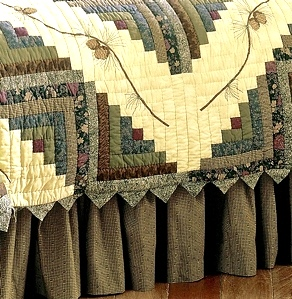 Barn Raising Pine Cone Quilt Collection by Donna Sharp | Donna Sharp Quilts