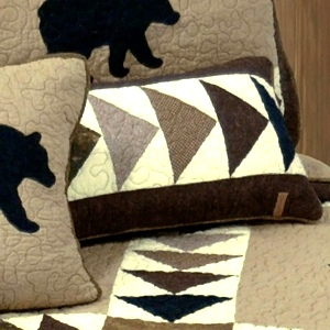 Woodcut Bear Collection by Donna Sharp | Woodcut Donna Sharp | Donna Sharp | Donna Sharp Quilt
