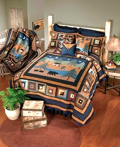 Midnight Bear Quilt