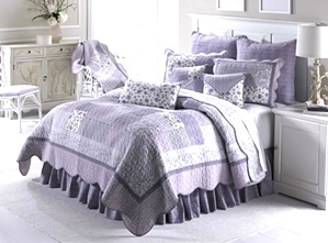 Lavender Rose Quilt