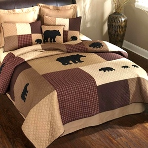 Logan Bear Quilt Collection by Donna Sharp | Logan Bear Donna Sharp | Donna Sharp | Donna Sharp Quilt